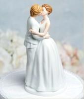 """Romance"" Gay Lesbian Wedding Cake Topper in stock"
