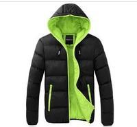 FREE SHIPPING  HOT SALE  Men's Cotton-Padded Jacket  winter men  parka down jacket