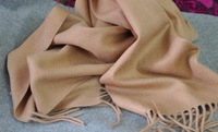 Free shipping Cashmere scarf 30 180 long camel red dark gray light gray ivory