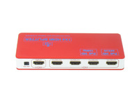 Free shipping  4 Port HDMI Splitter 1.4v 3D 4Kx2K Ethernet
