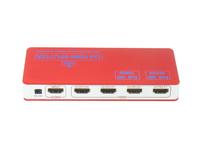 Free shipping  4 Port HDMI Splitter 1.4v 3D 4Kx2K Ethernet