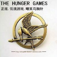 Free Shipping(MOQ 10$ Mix) PZ041 Europe Film Hunger Games  Alloy Mock Bird Pin Brooch  Wholesale