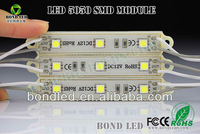 5050 3 LED Modules Yellow/Green/Red/Blue/White/Warm White Waterproof IP65 DC12V 1000pcs Discount Ship