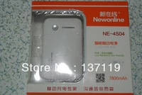 Hot Sale! In Stock! New arrival! Newonline  Good quality Newonline Power Bank Real Capacitive 7800mAh lithium power pad