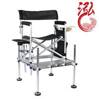 Water two-site fishing chair taiwan fishing chair taiwan fishing chair multifunctional folding fishing stool belt pedal