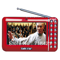 V-118 Portable Movie Player Portable Speaker Portable Voice Amplifier with FM Radio Worldwide Free Shipping