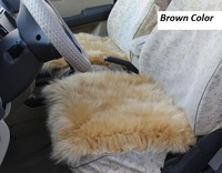 Sheepskin Car Seat Cover 1pcs Auto Cushion for Winter 7 Color Auto Cushion