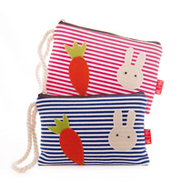Female coin purse mobile phone bag cute canvas fabric bag women's cell phone pocket key wallet