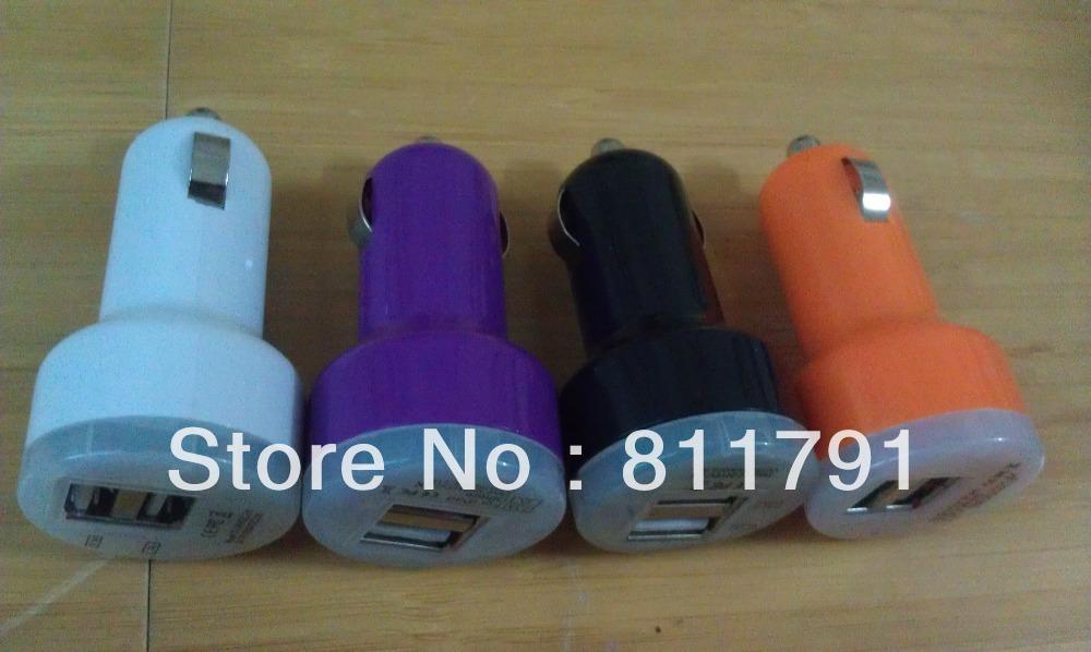 2 Port Usb Car Charger Adapter New Arrival 50pcs Lot Dual 2 Port Usb Car Charger Adapter 5v 2 1a