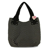 2013 casual all-match polka dot fashion big bag one shoulder handbag