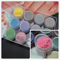 Hot selling New 12 Color Fashion Velvet Flocking Powder For Velvet Manicure Nail Art Polish Tips
