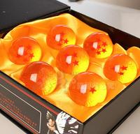 Dragon ball Z star 7.5CM crystal ball Promotion Japan Anime 1-7 star  Dragon ball Retail birthday gifts(Just one ball)