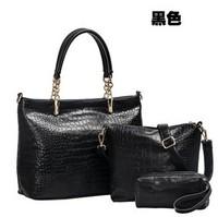 Free shipping  2013 big bags female genuine leather handbag fashion cross-body fashion one shoulder women's cowhide handbag