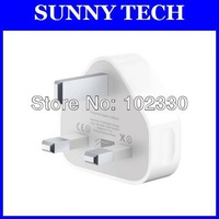 3 pin UK Plug AC Wall Power Adapter USB Wall Charger Home Charger Travel Charger for iPhone 3 3GS 4 4S 5