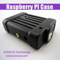 Transparent Pi Box case shell for Raspberry Pi+2pcs Screws + non-slip mat