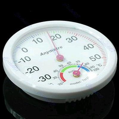 C18 New Indoor Outdoor Thermometer Hygrometer Temperature(China (Mainland))