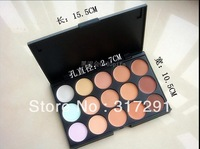 free shipping NEW makeup 15 color CONCEALER palette (100 pcs/lots)