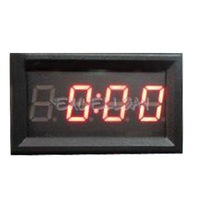 4 Digit 0.4inch Red LED Digital Electronic Clock for Car Motorcycle Motor E1Xc
