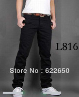 Hot Sell! Fashion men jeans High Quality Casual Slim jeans men 100% Cotton denim jeans Drop Shipping