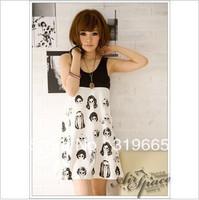 wholesale premium sleeveless vest skirt dress mixed colors simple capitation wild hot skirt lesecret gift+freeshipping