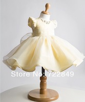 Free shipping! Child formal dress dance clothes baby princess dress wedding dress girl's costume