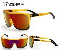Super light sport spy2 + European and American hipster men sunglasses fluorescent color mirrors @17