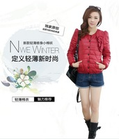 new women's winter Korean Slim thin cotton jacket short section of small padded cotton jacket big yards down the tide