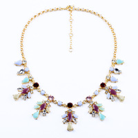 Fashion Flower Pendant Necklace Accessories