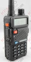 kendio tk-f8 walkie talkie th f8 tk f8 uhf vhf dual band ham radio transceiver with earpiece for baofeng uv-5r radio