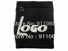 Zipper Wallet Cotton Wristband(China (Mainland))
