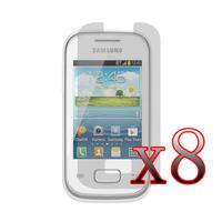 8x LCD Screen Protector Film Gurad Shield for Samsung Galaxy Pocket Plus S5301