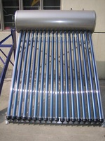 FREE SHIPPING / 300L Low pressure solar water heater /6-9Family use/ Input water by hand/20years lifespan