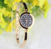 JW Rose Gold Ladies Quartz Watch Steel Case Women Dress Watches Roman numerals hours Casual watches New 2013