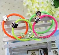 retail sale ladies hair rope colorful hair ring girl Elastic Hair Band Rope GTX-0028