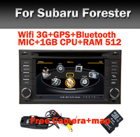 3G Wifi Subaru Forester Car DVD Player with GPS bluetooth Radio TV Car DVR USB SD Steering Wheel control Free camera