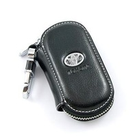Day window key wallet cover keyrings for Toyota key bags Remote car key case keychain genuine leather car Free shipping