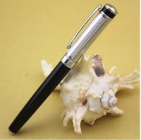 BAOER 508 black and silver roller ball pen Free shipping