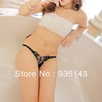 Free Shipping 6 Color Women's Butterfuly Tiny Waistband Lace Grenadine Sexy Underwear Panties