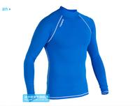 Decathlon Tribord unisex lycra rash guard lycra top for surfing snorkeling swimming sunscreen sun block UPF 50+