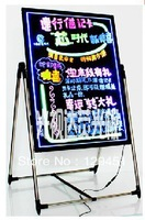 Electronic led neon board handwriting board 6080 luminescent blackboard advertising board