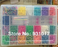 Plastic box Rainbow loom kit  Free shipping  DHL/UPS/FEDEX