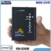 Super 1-CH SD Card Recorder Portable 1-CH DVR Micro 1-CH SD Card Recorder MINI DV