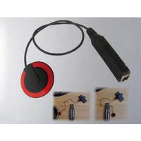 Piezo Contact Microphone Pickup for Guitar Violin Banjo Mandolin Ukulele