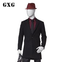 2013 winter gxg new arrival one button design long overcoat 34826562