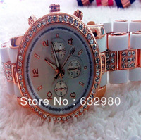 Free Shipping Best Gift Watch!Stylish Crystal Women Watch,Lady Party Bracelet Bangle Dress Watch
