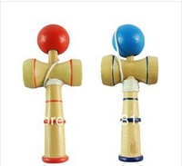 Fedex Free shipping 400pcs Kendama Ball Japanese Traditional Wood Game Toy Education Gift