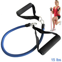 Fitness Resistance Bands Resistance Rope Tubes Elastic Exercise Bands for Yoga Pilates Workout
