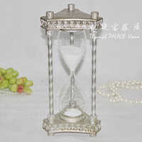 Factory direct sales of foreign trade Antique retro nostalgic finishing hourglass timer american crafts decoration wedding gift