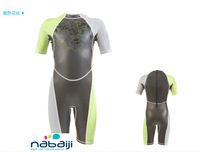 KLOUPI NABAIJI SHORTY BOY Wind Resistant coating swimming suit shorty for surfing body boarding beach swimming