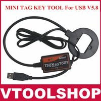 2013 High Recommended Professional Auto key programmer MINI TAG KEY TOOL For USB V5.8 with fast free shipping